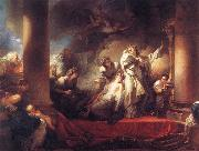 Jean Honore Fragonard Coresus Sacrificing himselt to Save Callirhoe oil painting picture wholesale