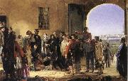 Jerry Barrett The Mission of Merey:Florence Nightingale Receiving the Wounded at Scutari oil painting artist
