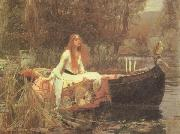 John William Waterhouse The Lady of Shalott oil painting artist