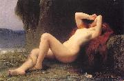Lefebvre, Jules Joseph Mary Magdalen in the Grotto oil painting artist