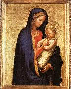 MASACCIO Madonna and Child oil painting artist