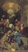 Maino, Juan Bautista del The Adoration of the Magi oil painting artist