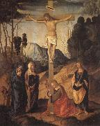 Marco Palmezzano The Crucifixion oil painting artist