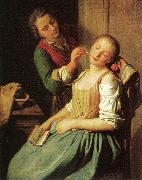 Pietro Antonio Rotari Sleeping Girl oil painting picture wholesale