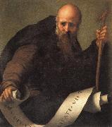 Pontormo St.Anthony Abbot oil painting artist