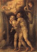 Pontormo The Fall of Adam and Eve oil painting artist