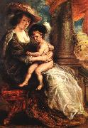 RUBENS, Pieter Pauwel Helena Fourment with her Son Francis oil painting picture wholesale