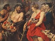 RUBENS, Pieter Pauwel Diana Returning from Hunt oil painting artist