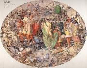 Richard  Dadd Contradiction:Oberon and Titania oil painting artist