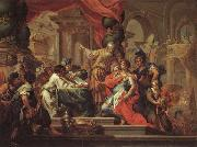 Sebastiano Conca Alexander the Great in the Temple at Jerusalem oil painting picture wholesale