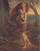 Simeon Solomon Love in Autumn oil painting artist