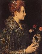 Sofonisba Anguissola A Young Lady in Profile oil painting artist