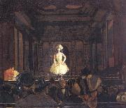 Walter Sickert Gatti's Hungerford Palace of Varieties:Second Turn of Katie Lawrence oil painting artist