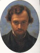 William Holman Hunt Dante Gabriel Rossetti oil painting artist