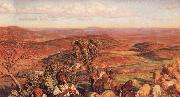 William Holman Hunt The Plain of Esdraelon from the Heights above Nazareth oil painting artist