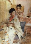 Anders Zorn Fronarna Salomon(The misses Salomon) oil painting picture wholesale