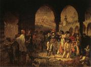 Baron Antoine-Jean Gros Napoleon Visiting the Plague Vicims at jaffa,March 11.1799 oil painting artist