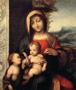 Correggio Madonna and Child with the Young Saint John oil painting picture wholesale