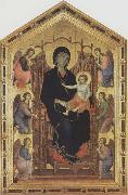 Duccio di Buoninsegna Madonna and Child with Angels oil painting picture wholesale