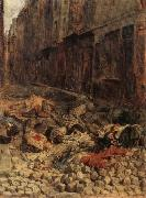 Ernest Meissonier Remembrance of Barricades in June 1848 oil painting artist