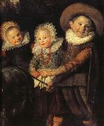 Guido da Siena Details of  The Group of Children oil painting artist