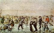 Hendrick Avercamp A Scene on the Ice oil painting artist