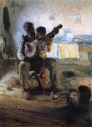 Henry Ossawa Tanner The Banjo Lesson oil painting artist