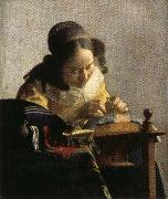 Jan Vermeer The Lacemaker oil painting picture wholesale