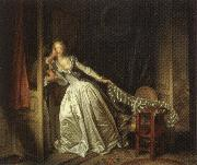 Jean-Honore Fragonard The Stolen Kiss oil painting picture wholesale