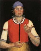 Kasimir Malevich The Working Woman oil painting artist