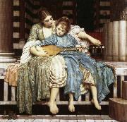 Lord Frederic Leighton The Muisc Lesson oil painting picture wholesale