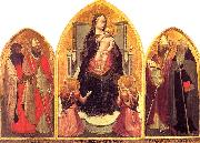 MASACCIO San Giovenale Triptych oil painting artist