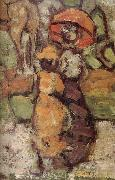 Maurice Prendergast Details of Central Park oil painting artist