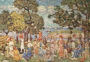 Maurice Prendergast The Promenade oil painting artist