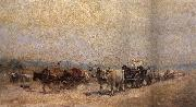 Nicolae Grigorescu The Return from the Fair oil painting picture wholesale