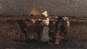 Nicolae Grigorescu Peasant Watching her Cows at Barbizon oil painting picture wholesale