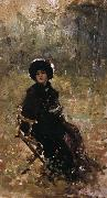 Nicolae Grigorescu In the Garden oil painting picture wholesale