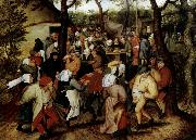 Pieter Bruegel Rustic Wedding oil painting artist