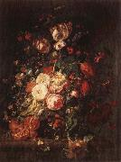 RUYSCH, Rachel Flowers and Fruit oil painting artist