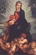 Rosso Fiorentino Madonna and Child with Putti oil painting artist