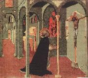 SASSETTA St Thomas Before the Cross oil painting artist