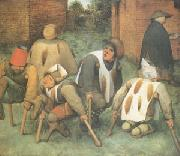 BRUEGEL, Pieter the Elder The Beggars (mk05) oil painting picture wholesale