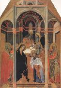 Bartolo di Fredi The Presentation in the Temple (mk05) oil painting artist