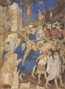 Jacquemart de Hesdin The Carrying of the Cross (mk05) oil painting artist