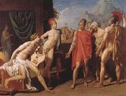 Jean Auguste Dominique Ingres Achilles Receives the Envoys of Agamemnon (mk04) oil painting picture wholesale