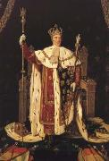 Jean Auguste Dominique Ingres Charles X in his Coronation Robes (mk04) oil painting artist