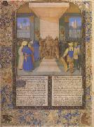 Jean Fouquet The Coronation of Alexander From Histoire Ancienne (after 1470) (mk05) oil painting picture wholesale