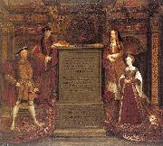 Leemput, Remigius van Copy after Hans Holbein the Elder's lost mural at Whitehall oil painting picture wholesale