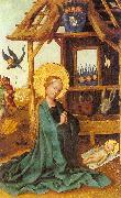 Lochner, Stephan Adoration of the Child oil painting picture wholesale