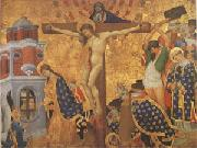 Lorenzo Monaco The Crucifixion (mk05) oil painting picture wholesale